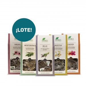 LOTE X5 INFUSIONES
